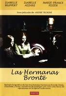 Les soeurs Brontë - Spanish DVD cover (xs thumbnail)