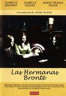 Les soeurs Brontë - Spanish DVD movie cover (xs thumbnail)