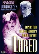 Lured - DVD movie cover (xs thumbnail)
