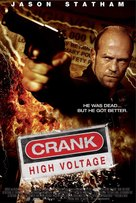 Crank: High Voltage - Thai Movie Poster (xs thumbnail)