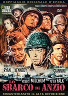 Lo Sbarco di Anzio - Italian DVD movie cover (xs thumbnail)