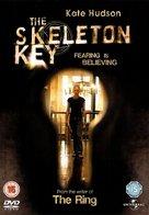 The Skeleton Key - British DVD cover (xs thumbnail)