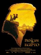 The Prince of Egypt - Spanish Movie Poster (xs thumbnail)