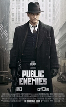 Public Enemies - British Movie Poster (xs thumbnail)
