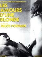 Lásky jedné plavovlásky - French Movie Poster (xs thumbnail)