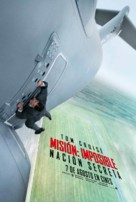 Mission: Impossible - Rogue Nation - Spanish Movie Poster (xs thumbnail)