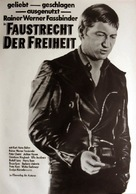Faustrecht der Freiheit - German Movie Poster (xs thumbnail)