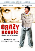 Crazy People - German DVD cover (xs thumbnail)