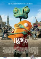 Rango - Czech Movie Poster (xs thumbnail)