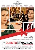 Un conte de Noël - Spanish Movie Poster (xs thumbnail)