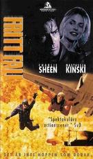 Terminal Velocity - Swedish VHS movie cover (xs thumbnail)