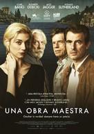 The Burnt Orange Heresy - Spanish Movie Poster (xs thumbnail)