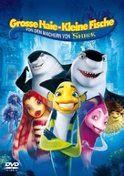 Shark Tale - German DVD cover (xs thumbnail)