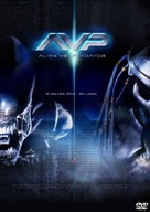 AVP: Alien Vs. Predator - Swedish DVD movie cover (xs thumbnail)
