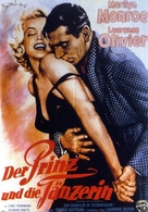 The Prince and the Showgirl - German Movie Poster (xs thumbnail)