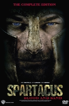"""Spartacus: Blood And Sand"" - DVD cover (xs thumbnail)"