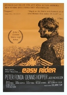 Easy Rider - Swedish Movie Poster (xs thumbnail)
