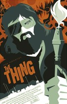 The Thing - Homage movie poster (xs thumbnail)