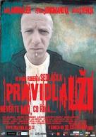Pravidla lzi - Czech poster (xs thumbnail)