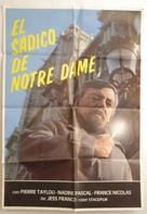 L'éventreur de Notre-Dame - Spanish Movie Poster (xs thumbnail)