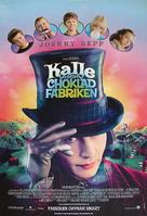 Charlie and the Chocolate Factory - Swedish Movie Poster (xs thumbnail)