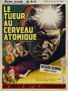 Creature with the Atom Brain - Belgian Movie Poster (xs thumbnail)