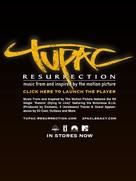 Tupac Resurrection - poster (xs thumbnail)