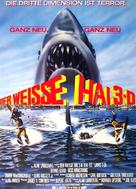 Jaws 3D - German Movie Poster (xs thumbnail)