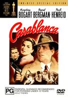 Casablanca - Australian DVD cover (xs thumbnail)