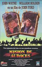 The Horse Soldiers - Spanish Movie Cover (xs thumbnail)