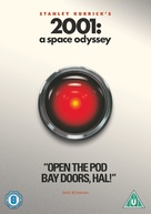 2001: A Space Odyssey - British DVD movie cover (xs thumbnail)