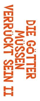 The Gods Must Be Crazy 2 - German Logo (xs thumbnail)