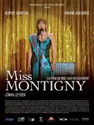 Miss Montigny - French Movie Poster (xs thumbnail)