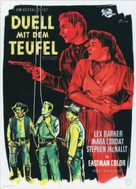 The Man from Bitter Ridge - German Movie Poster (xs thumbnail)