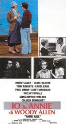 Annie Hall - Italian Movie Poster (xs thumbnail)