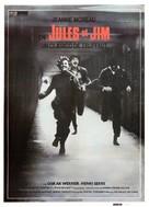 Jules Et Jim - Spanish Movie Poster (xs thumbnail)