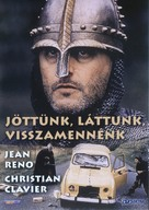 Les visiteurs - Hungarian DVD cover (xs thumbnail)