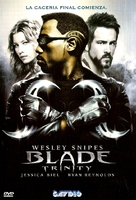 Blade: Trinity - Argentinian DVD cover (xs thumbnail)