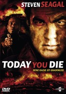 Today You Die - German DVD cover (xs thumbnail)