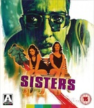 Sisters - British Blu-Ray cover (xs thumbnail)