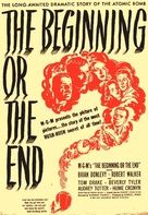 The Beginning or the End - Movie Poster (xs thumbnail)