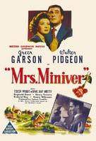 Mrs. Miniver - Australian Movie Poster (xs thumbnail)