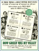 How Green Was My Valley - Movie Poster (xs thumbnail)