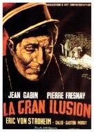La grande illusion - Spanish Movie Poster (xs thumbnail)