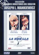 Sleuth - Spanish DVD movie cover (xs thumbnail)
