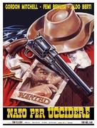 Nato per uccidere - Italian Movie Poster (xs thumbnail)
