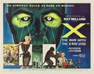 X - Theatrical movie poster (xs thumbnail)