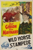 Wild Horse Stampede - Movie Poster (xs thumbnail)