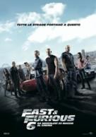Furious 6 - Italian Movie Poster (xs thumbnail)