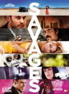 Savages - French Movie Poster (xs thumbnail)